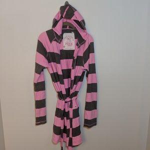 Victoria Secret Pink hooded bathrobe